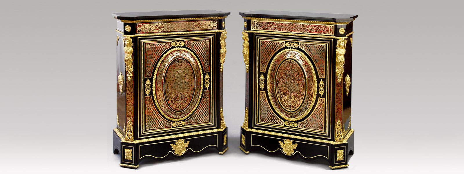 Eb niste restaurateur de meubles d 39 appuis napol on iii en for Meuble napoleon 3